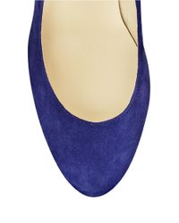 Ivanka Trump - Blue Kimo Suede Pumps - Lyst