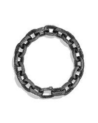 David Yurman - Metallic Iron Wood Large Link Bracelet for Men - Lyst
