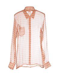 Spijkers En Spijkers - Orange Shirt - Lyst