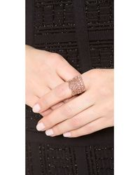 Aurelie Bidermann - Pink Vintage Lace Ring - Lyst