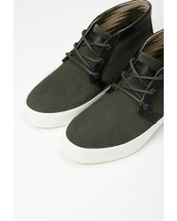 Forever 21 - Green Unnown Josef Suede Mid-top Sneaker - Lyst