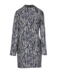 Numph - Blue Full-length Jacket - Lyst
