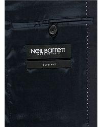 Neil Barrett - Blue Virgin Wool Blend Suit for Men - Lyst