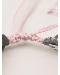 Deepa Gurnani - Pink Embellished Bracelet - Lyst