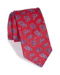 Ted Baker - 'textured Pine' Silk Tie for Men - Lyst