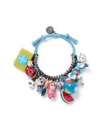 Venessa Arizaga | Blue 'around The World' Bracelet | Lyst