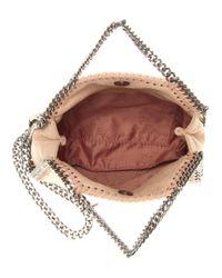 Stella McCartney - Natural Falabella Mini Shoulder Bag - Lyst
