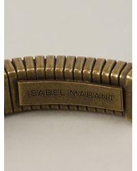 Isabel Marant | Brown Semirigid Bracelet | Lyst