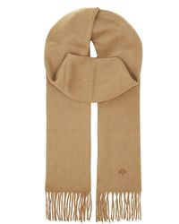 Mulberry | Natural Cashmere Scarf, Women's, Camel | Lyst