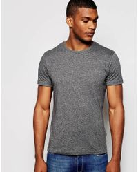 Hilfiger Denim | Gray T-shirt With Crew Neck In Grey for Men | Lyst
