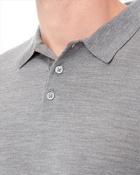 Jaeger - Gray Gostwyck Polo Shirt for Men - Lyst
