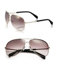 Marc By Marc Jacobs - Metallic Gradient 63mm Aviator Sunglasses - Lyst