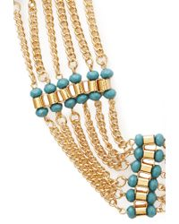 Forever 21 - Blue Inner Peace Chain Necklace - Lyst