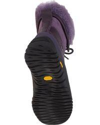 UGG - Purple Adirondack Ii Snow Boot Blackberry Wine Leather - Lyst