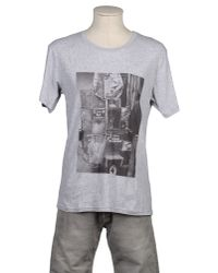 Brooklyn We Go Hard - Gray Short Sleeve T-shirt for Men - Lyst