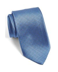 JZ Richards | Blue J.z Richards Dot Silk Tie for Men | Lyst