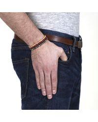 Lulu Frost - Brown G. Frost Wooden Morse Bracelet Red - Lyst