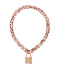 Henri Bendel | Natural Jetsetter Padlock Necklace | Lyst