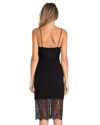 Nicholas - Black Eyelash Lace Dress - Lyst