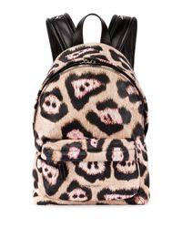 Givenchy - Multicolor Antigona Leopard-print Backpack - Lyst