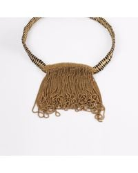 Bohemia Design - Brown Barasata Rainfall Necklace Black - Lyst