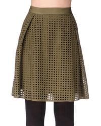 By Malene Birger - Green Mid-length Skirt - Lyst