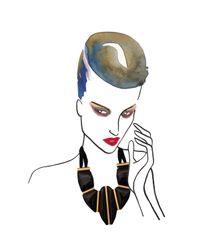 Marion Vidal | Black Adelaide Ceramic Necklace | Lyst