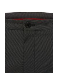 HUGO Black 'heldor' | Extra Slim Fit, Stretch Cotton Dress Pants for men