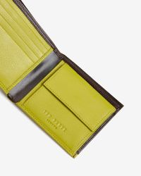 Ted Baker | Brown Contrast Colour Wallet for Men | Lyst