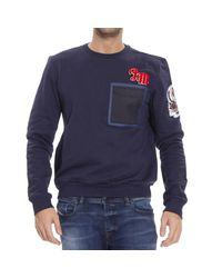 Frankie Morello | Blue Sweater for Men | Lyst