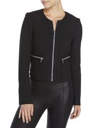 Elizabeth and James - Black Sebastian Jacket - Lyst