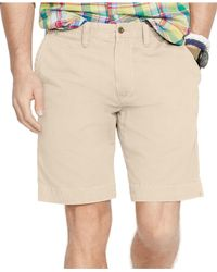 Polo Ralph Lauren - Natural Relaxed-fit Twill Short for Men - Lyst