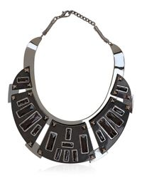 Caterina Zangrando | Black Lutatia Necklace | Lyst