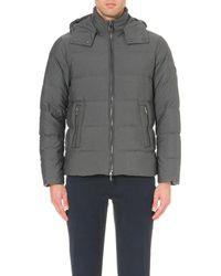 Michael Kors | Gray Hooded Shell Jacket for Men | Lyst