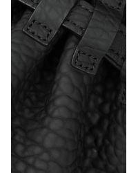 Alexander Wang - Black Diego Textured-Leather Shoulder Bag - Lyst