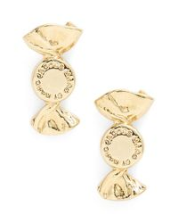 Marc By Marc Jacobs | Metallic 'lost & Found' Candy Stud Earrings - Oro | Lyst