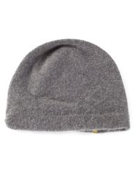 CA4LA | Gray Slouchy Cashmere-Blend Beanie for Men | Lyst