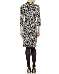 Diane von Furstenberg - Black New Julian Two Printed Wrap Dress - Lyst