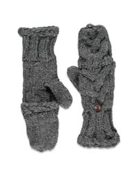 Forever 21 | Gray Cable Knit Convertible Gloves You've Been Added To The Waitlist | Lyst