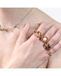 Tessa Metcalfe - Metallic The Pearl Of London Gold - Lyst