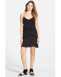Volcom - Black 'haute Love' Strappy Dress - Lyst