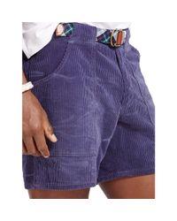 Polo Ralph Lauren - Blue Straight-fit Corduroy Short for Men - Lyst