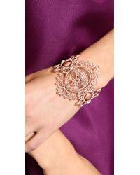 Vivienne Westwood - Isolde Bracelet Pink Gold - Lyst