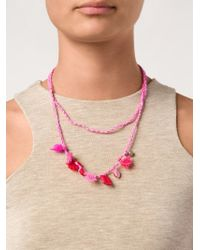 Dosa | Pink 'monas' Necklace | Lyst