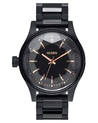 Nixon | Black 'the Facet' Bracelet Watch for Men | Lyst