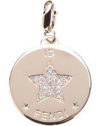 Fendi - Metallic Star Identity Pendant - Lyst