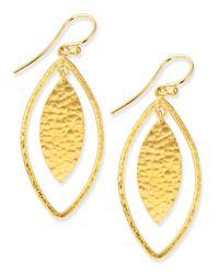 Gurhan | Metallic Willow Geo Marquise Drop Earrings | Lyst