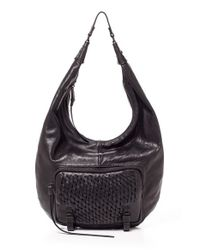 She + Lo | Black 'take A Chance' Hobo | Lyst