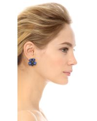 DANNIJO | Blue Sarrah Earrings | Lyst