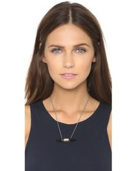 Chan Luu - Horn Necklace - Black Horn - Lyst